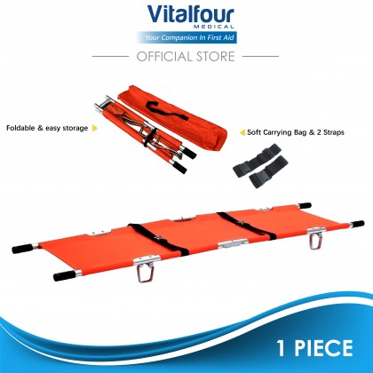 Double Fold Stretcher with Carrying Bag